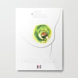 TwerkitHazel's Nipple of Venus Poster Metal Print