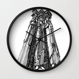power of three Wall Clock