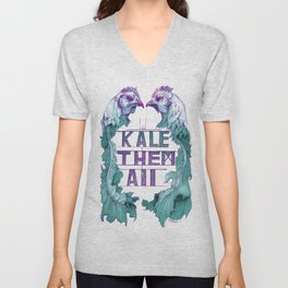 Kale Them All Unisex V-Neck