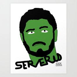 Severus Art Print