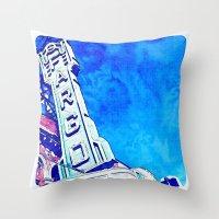 fargo Throw Pillows featuring Fargo Pillow by Spilling Beans