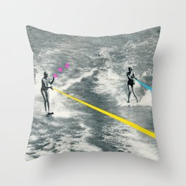 Competitive Strategy Throw Pillow