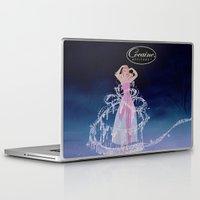 cocaine Laptop & iPad Skins featuring Cinderella Cocaine Attitude by Trash Apparel