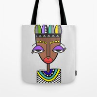 indie Tote Bags featuring Indie by Andrea Silvestri