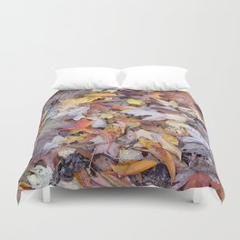 leaf litter menagerie Duvet Cover