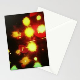 Stage Lights Stationery Cards