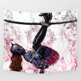 Bondage Catwoman Wall Tapestry