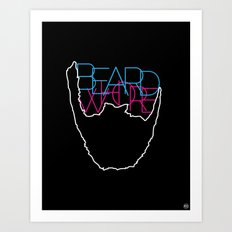 Beard Whore [ver.1] Art Print