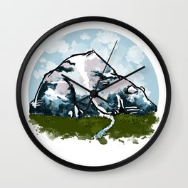 Bear Mountain Wall Clock