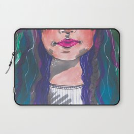 Dyed Curls Laptop Sleeve