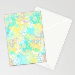 Floral firework Stationery Cards