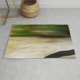 Forest, Water, Lines Rug