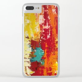 Abstract B1 Clear iPhone Case