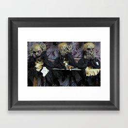 Hear No Evil, See No Evil, Speak No Evil Framed Art Print