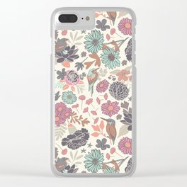 Silvestre Paradise Clear iPhone Case