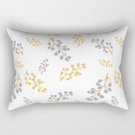 Garden Swirl Collection - Bouquet Bits Rectangular Pillow