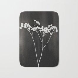 Flower Photogram II Bath Mat