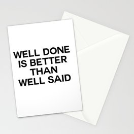 well done Stationery Cards