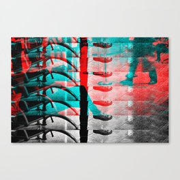 Irrecoverable Fragments - #5 Canvas Print