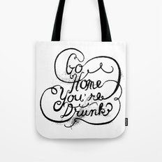 GO HOME Tote Bag