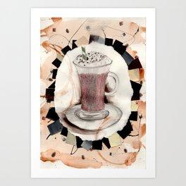 Hot: Chocolate Art Print