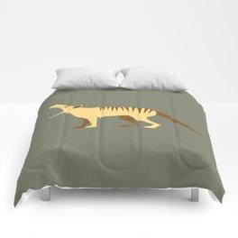 EXTINCT: Thylacine (Tasmanian Tiger) Comforters