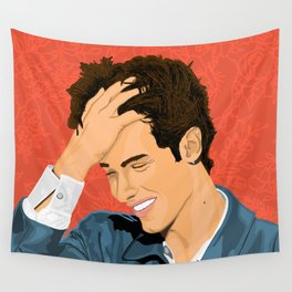Floral Shawn Wall Tapestry
