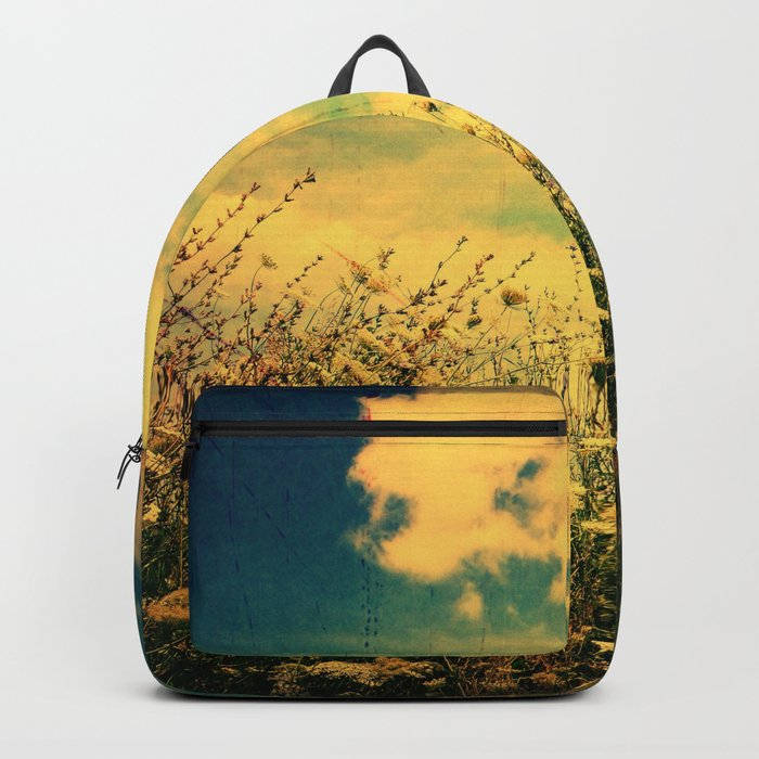 Counting Flowers Like Stars - Color Version Backpack