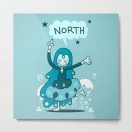 North Pointer Metal Print