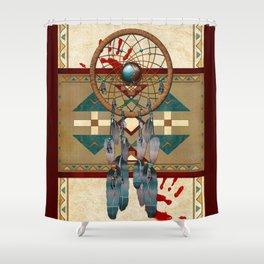 Catching Spirit Native American Shower Curtain