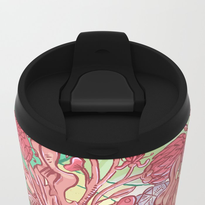 The Eyes of My Eyes are Open - Everything Which Is Yes Metal Travel Mug