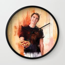 The Pie maker Wall Clock