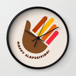HIMYM Slapsgiving Alternative concept Wall Clock