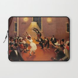 African-American Classical Masterpiece 'Tongues (Holy Rollers)' by Archibald Motley Laptop Sleeve