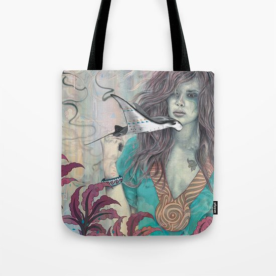 Solid Air Tote Bag