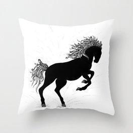 Midnight Run Throw Pillow