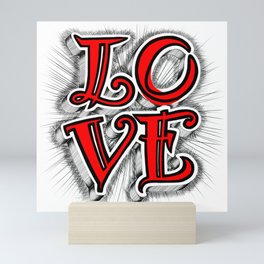 Love Angel Mini Art Print