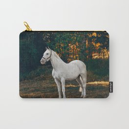 horse by Helena Lopes Carry-All Pouch