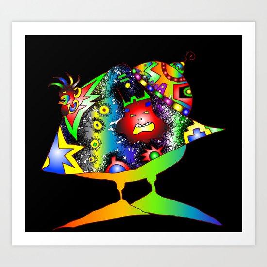 """Gana"" Art Print"