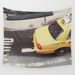 one way taxi:: nyc Wall Tapestry