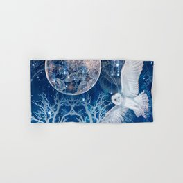 The Temple of the Full Moon Hand & Bath Towel