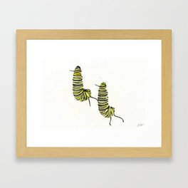 Hanging Js Framed Art Print