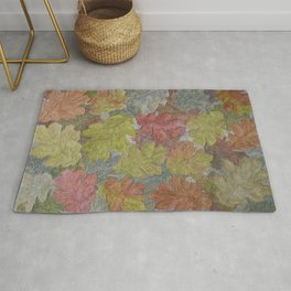 Autumn Leaves / Graphitint Painting Rug