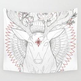 Deer, Oh Deer! Wall Tapestry