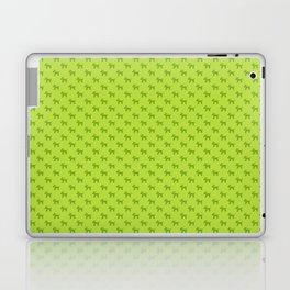 Dogs-Green Laptop & iPad Skin