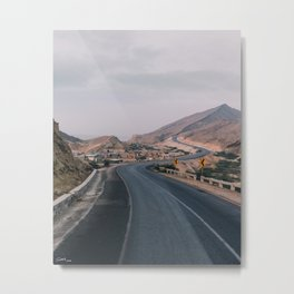 Way to the hills Metal Print