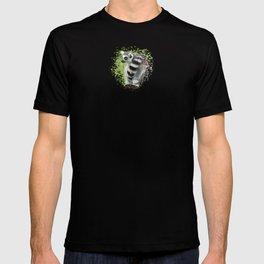 Lemur On A Log T-shirt