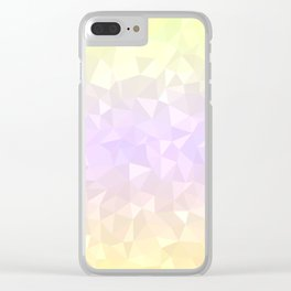 Pastel Ombre 3 Clear iPhone Case