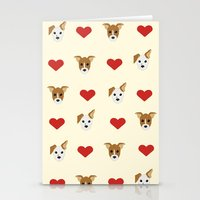puppies Stationery Cards featuring Puppies by Kobbzz