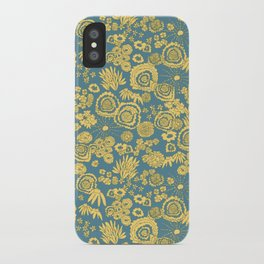 Scribble Ditsy Floral iPhone Case